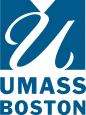 UMass Boston Logo Blue