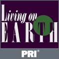 Living on Earth and PRI logo