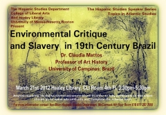 Environmental Critique & Slavery in 19th Century Brazil