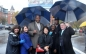 UMass Boston's Team: Gail Hobin, Angie Markowski, Chancellor Motley, Sylvia Mignon, Alkia Powell, Dana Smith and Phil Carver