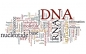 Word cloud about DNA and RNA