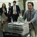 Pizza delivered to the House of Representative sit-in protest over gun control.