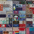 A picture of the AIDS Memorial Quilt