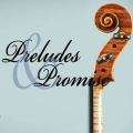 Words Preludes & Promises on top of instrument