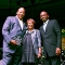 Dr. J. Keith Motley, Dr. Valerie Roberson, President of Roxbury Community College. and Keith McDermott, Director, Reggie Lewis Center