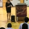 AG Maura Healey speaks to Boston Middle School students