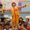 Ronald McDonald meets Shriver campers