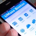 New UMass Boston app screen
