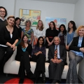 The staff of the Child Development Unit