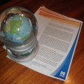 Issue briefs and small globe