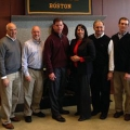 Mayors-elect from Boston, Amesbury, Chicopee, Beverly, and Brockton attended the Collins Center's seminar.
