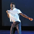 Dancer in UMass Boston's Diversity in Motion spring dance concert