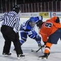 The Beacons came back twice to defeat the Salem State University Vikings 4-2 at Citi Frozen Fenway on January 7, 2014.