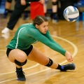 Volleyball player Elizabeth Glavan is a two-time Little East Conference Defensive Player of the Year.