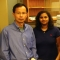 Professor Wei Zhang and PhD student Asha Kadam