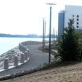 UMass Boston's stretch of HarborWalk