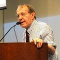 Jonathan Kozol spoke at UMass Boston as part of the anniversary celebration for the College of Education and Human Development.