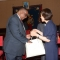 Professor of Nursing Haeok Lee meets with the president of Malawi.