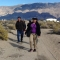 Associate Professor of Political Science Paul Watanabe and his Honors College Colloquium students tour the Manzanar National Historic Site.