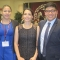 Abel Cano '12 served as a mentor to Lizmarie Peralta, Placidina Fico, and Jason Garcia.