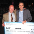 Mark Allio guided RailPod's Brendan English to a $100,000 win from the MassChallenge.