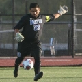 Senior captain Alfonso Rosales of Revere leads all of Division III with his 0.163 goals-against average and .955 save percentage.