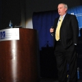 Eric Rosengren speaks at UMass Boston