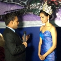 Mansee Sangani, a first-year student in UMass Boston's MSIT Program, was crowned Miss India USA on March 2, 2014.
