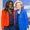 Rachel Saye and Senator Elizabeth Warren