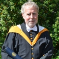 Timothy Shaw received the Doctor of Letters, honoris causa, for his contributions to African and development studies.