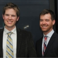 Seth Sheldon and Keith Cialino won the 2013 Business Launch Competition with their app made it!