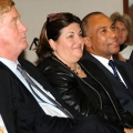 William Weld, Ann Bookman, Deval Patrick, Chancellor J. Keith Motley, Jane Swift, Ira Jackson