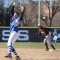 Senior Michelle Zullo now has 26 wins as a pitcher for the UMass Boston Beacons.