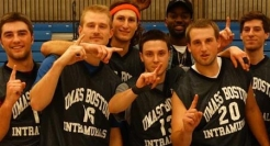 UMass Boston's intramural champions take advantage of the fitness and recreation programs that are available on campus.