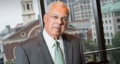 Mayor Thomas Menino, Boston's longest-tenured mayor, made educational opportunity the defining principle of his administration.