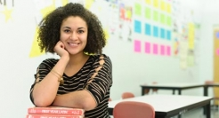 Brianna Reyes is a Latin teacher at Chelsea High School.