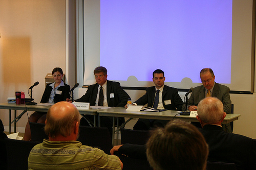 Panel from the Global Conference 2012 on Oceans, Climate, and Security