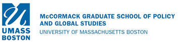 Logo for McCormack Graduate School of Policy and Global Studies, A CIOCS Collaborator.