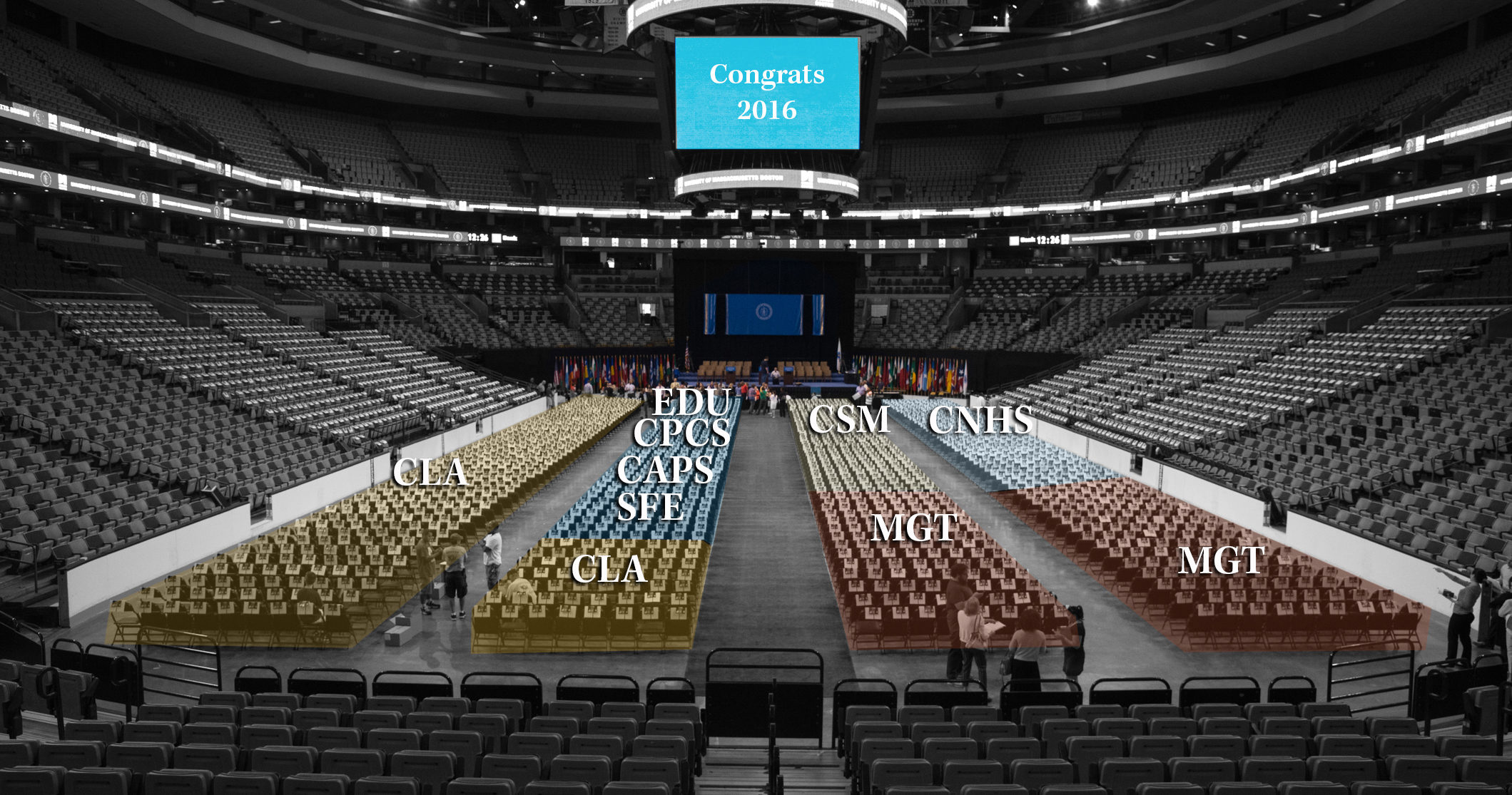 Find Your Graduate at the TD Garden