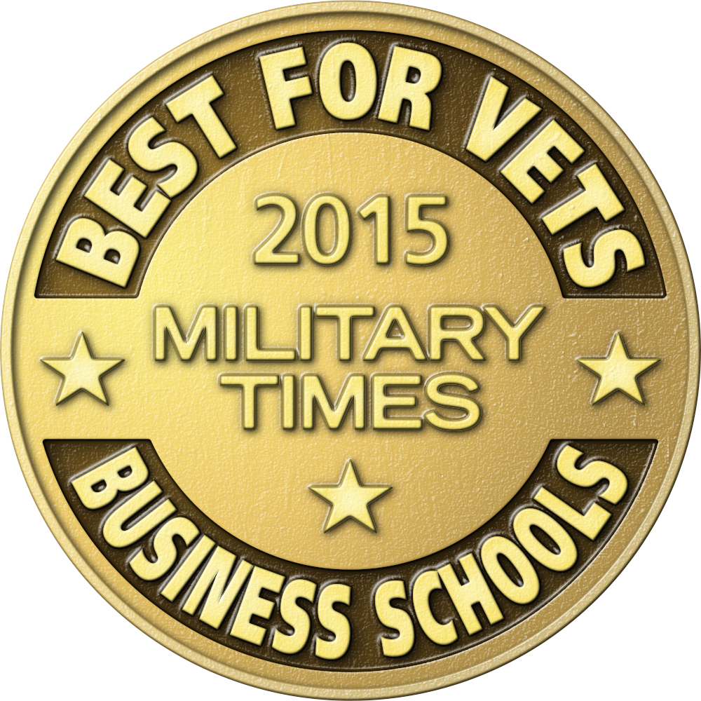 2015 Best for Vets Business School Logo