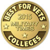 Military Times Best for Vets 2015 logo