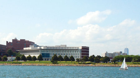 UMass Boston sits on the banks of Boston Harbor, just minutes from downtown.