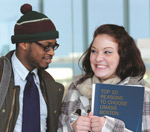 Two UMass Boston students