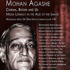 Distinguished Indian film and theater actor Mohan Agashe