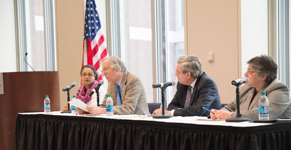 UMass Boston Panel Tackles History of Public Higher Education in Massachusetts
