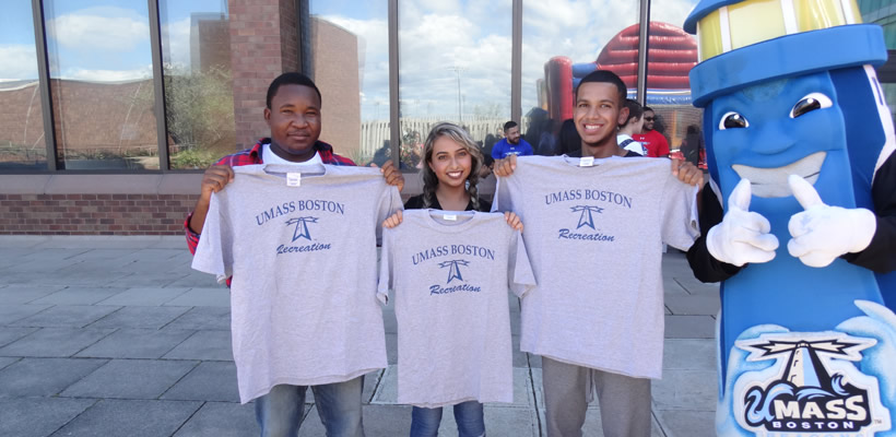Students win recreation tshirt
