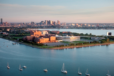 Aerial View of UMass Boston