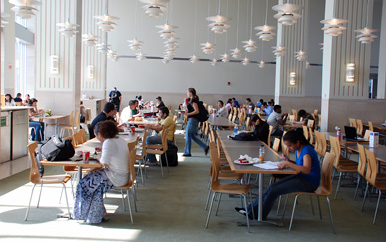 Dining services at UMass Boston
