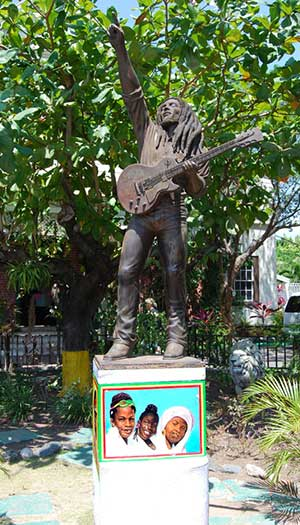 Marley Statue