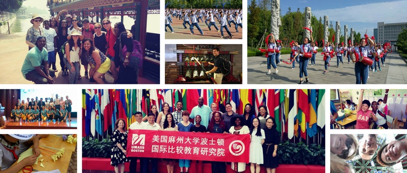 UMass Boston Takes China collage